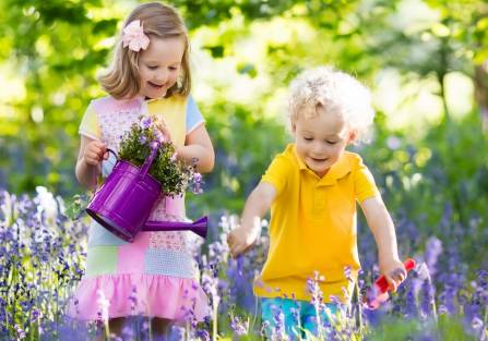 Wybieramy rośliny do dziecięcego ogrodu