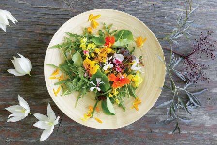 Jadalne kwiaty: tymi z ogrodu Zofii zajadają się goście w najlepszych polskich restauracjach