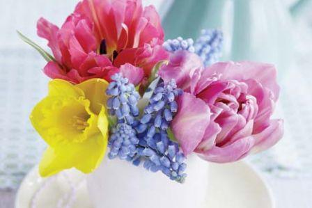 Pachnące układanki z kwiatów