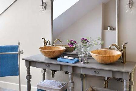 14 pomysłów na łazienkę w wiejskim domu