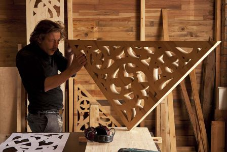 Drewniane wycinanki