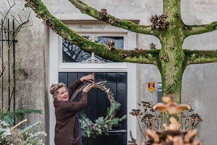 Święta w rustykalnym, holenderskim domu