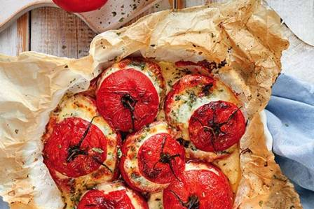 Pomidory nadziewane serami