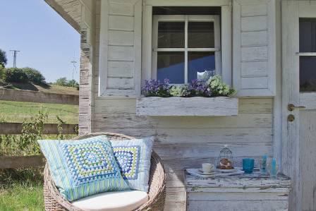 Patchwork: dziergane narzuty, poszewki na poduszki i dekoracje diy