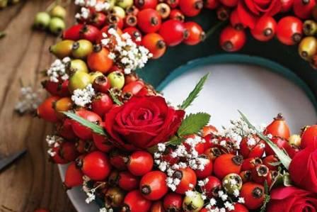 rośliny do dekoracji zimowych