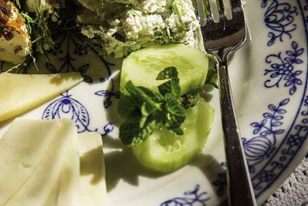 Twarożek ze świrzepą i ziołami
