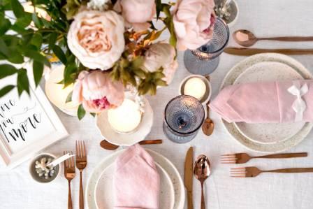 dekoracja stołu weselnego zrób to sam