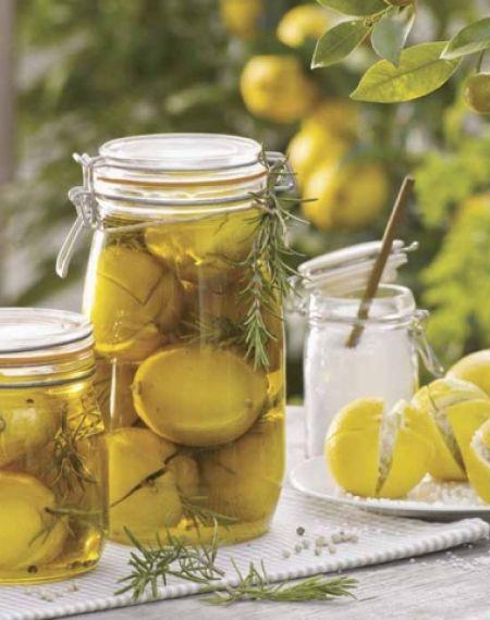 Cytryny w oliwie