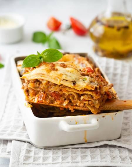 przepis na lasagne