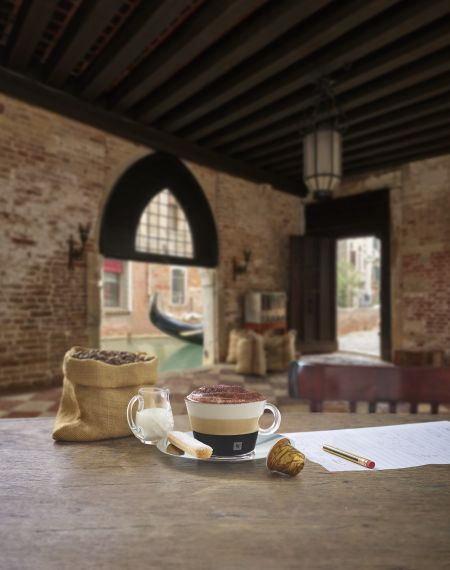 Cappuccino w stylu deseru Tiramisu, Nespresso nowa kolekcja kaw Ispirazione Italiana