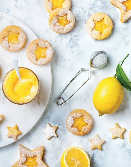 ciasteczka z kremem cytrynowym