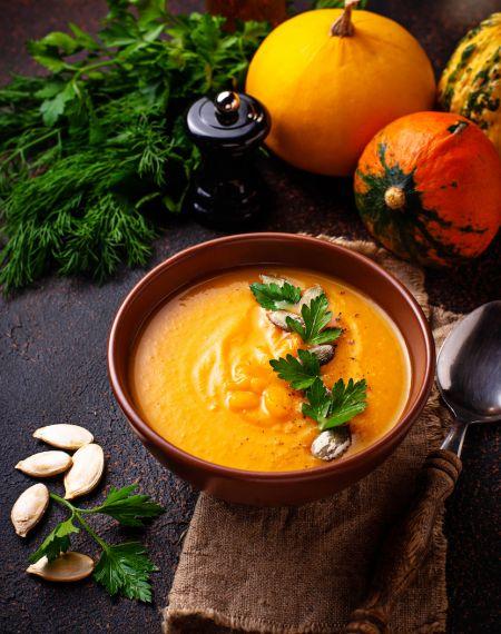 zupa krem z dyni fit