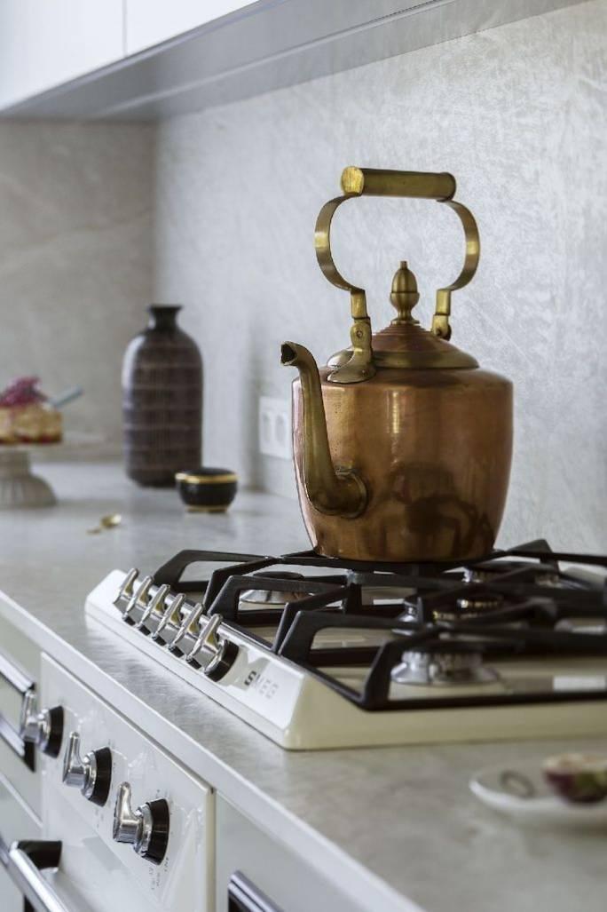 kuchenka w stylu retro