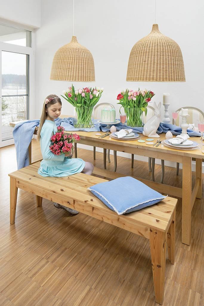 stół wielkanocny dekoracje