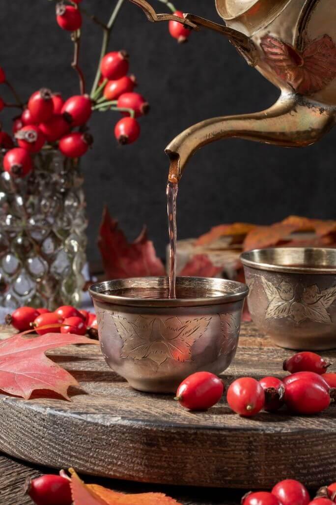 herbata z dzikiej róży