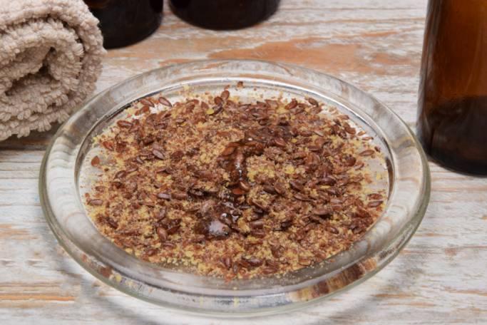 naturalne kosmetyki peeling z siemienia lnianego