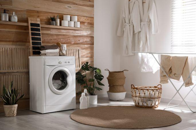 wyposażenie pralni domowej