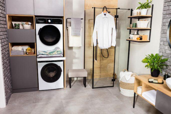 pralnia i suszarnia w domu