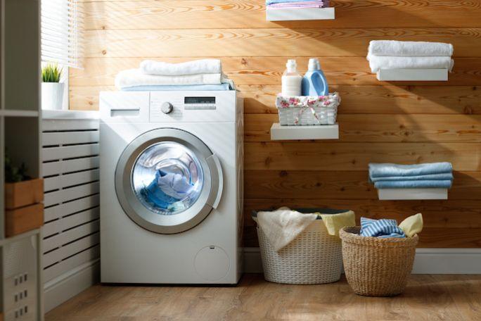 pralnia w domu jednorodzinnym