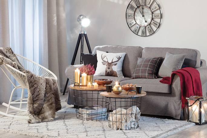 kanapa w stylu skandynawskim