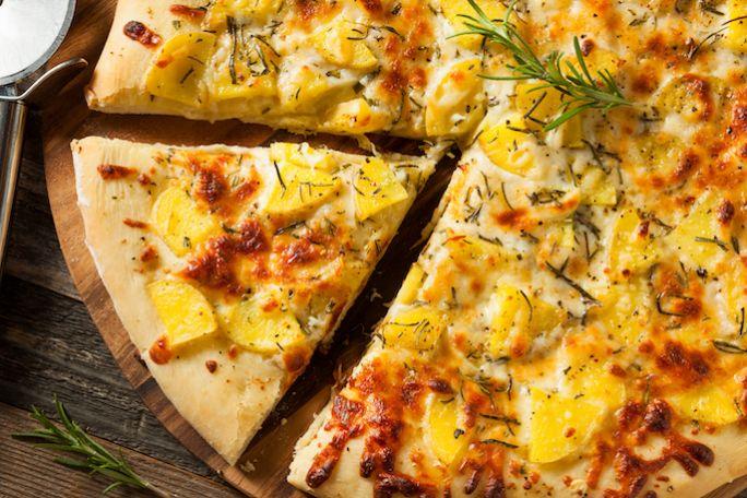 pizza z ziemniakami