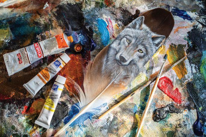 malowanie zwierząt farbami