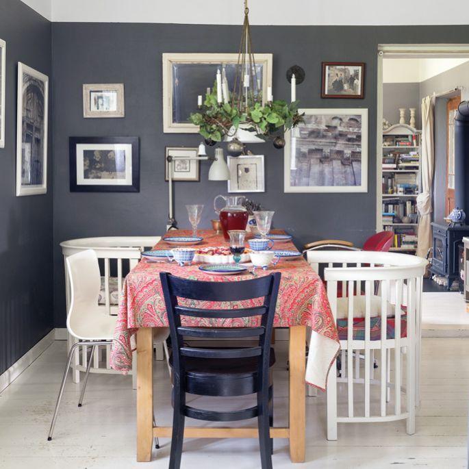Klasyka i pastele w zacisznym domu wBeskidach