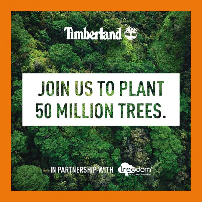 Zasadź drzewo w Ghanie z marką Timberland
