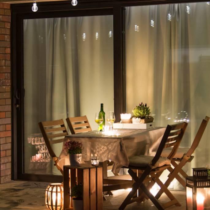 Urządź taras idealny na chłodne wieczory