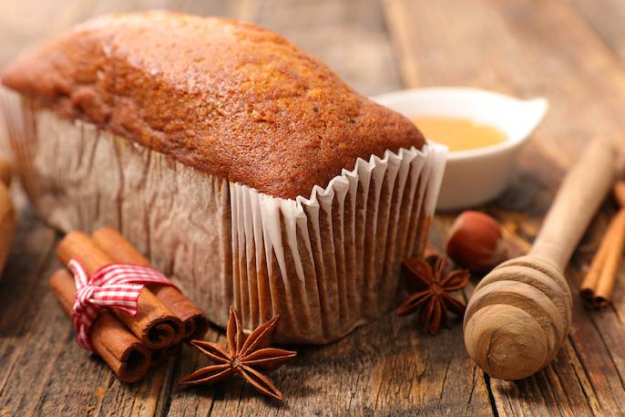 Piernik świąteczny z miodem