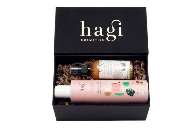 HAGI, Zestaw Bali, żel do mycia + olejek do ciała, Hagi.com.pl