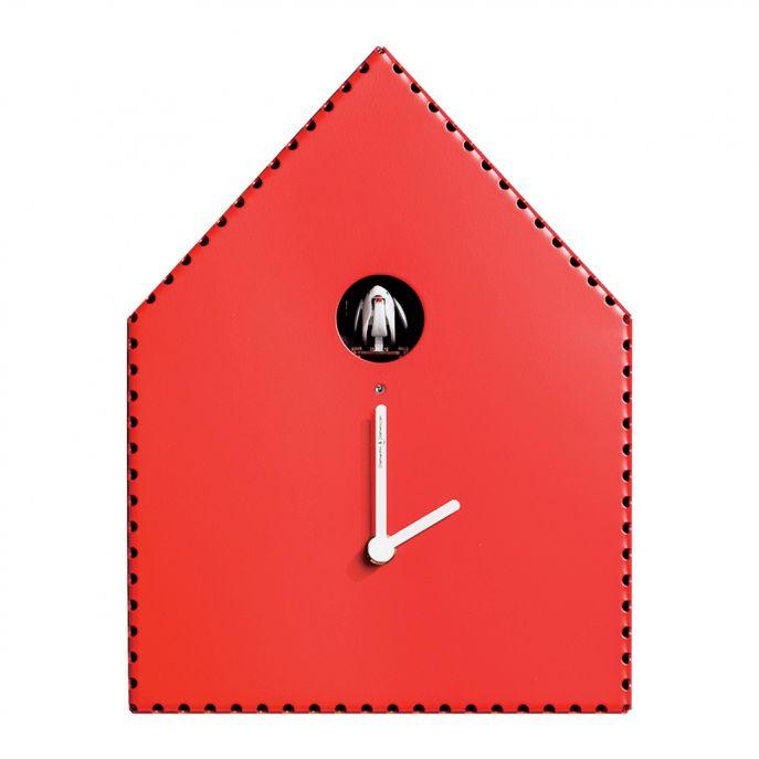 Zegar ścienny z kukułką, która kuka tylko w dzień (czujnik światła), amara.com