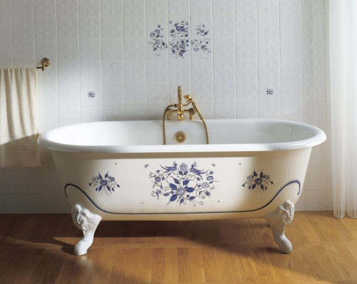 W łazience naturalnie