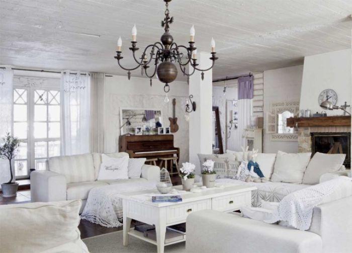 Romantyczna stodoła w stylu skandynawskim