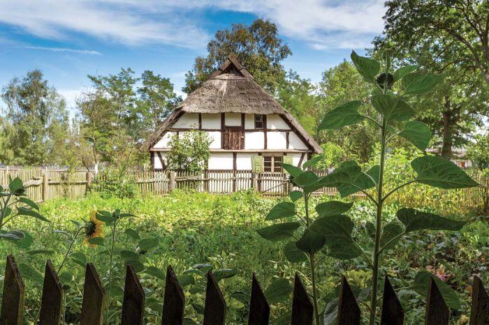 Dom pasujący do krajobrazu