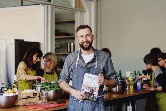 Warsztaty kulinarne z Piotrem Kucharskim