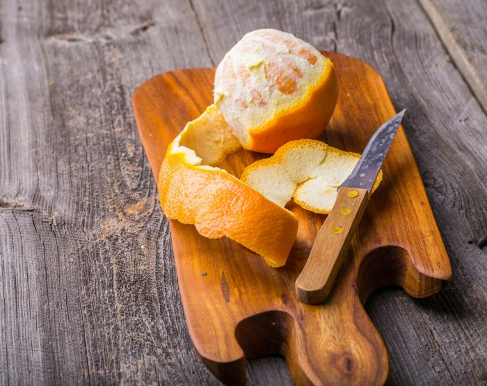 5 nietypowych sposobów na wykorzystanie skórki z pomarańczy