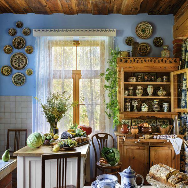 JAZZ pod jabłonką: rustykalne wnętrza z lokalnymi perełkami