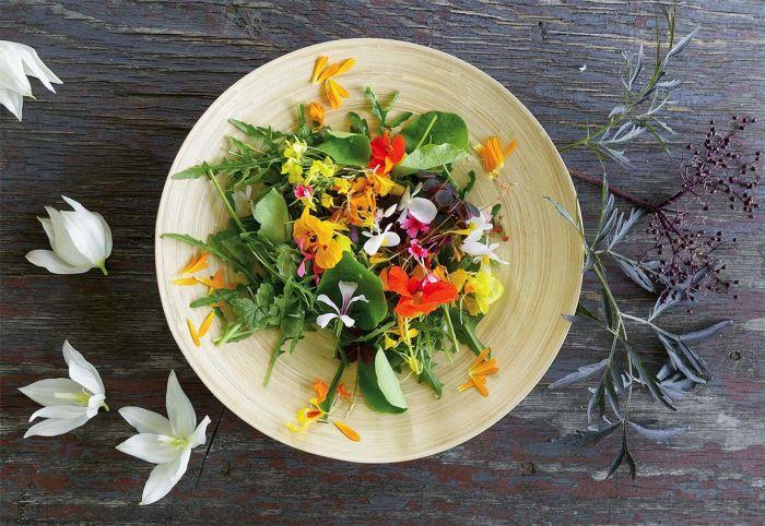Farma kwiatów jadalnych