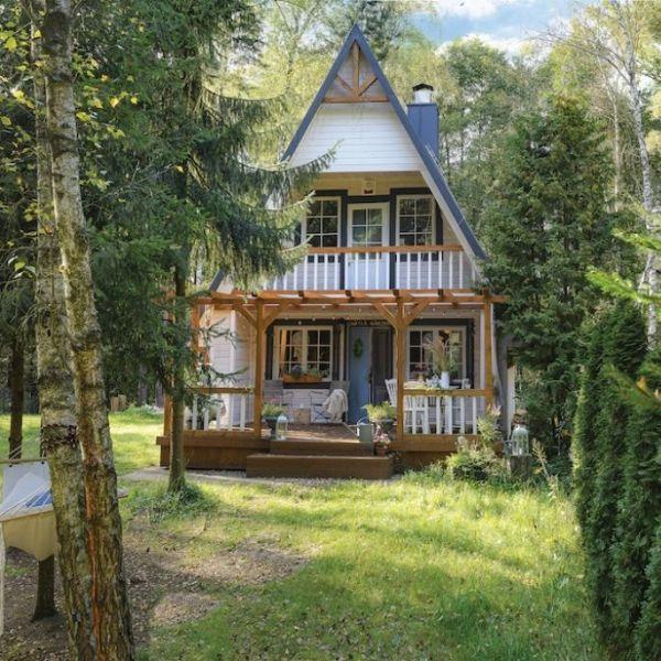 dom drewniany wnętrza
