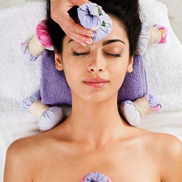 Pachnące, ziołowe stemple do masażu