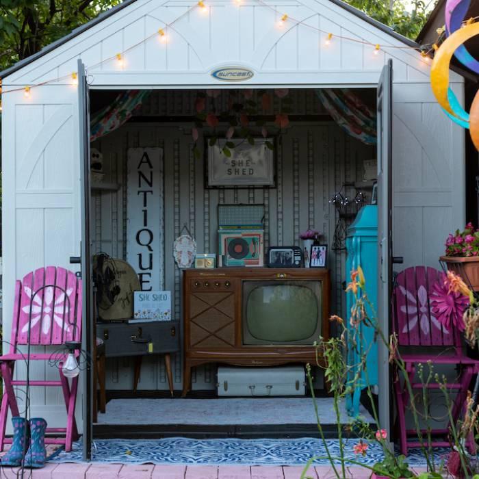 She shed – kobiecy domek ogrodowy. Jak stworzyć swój mały azyl?