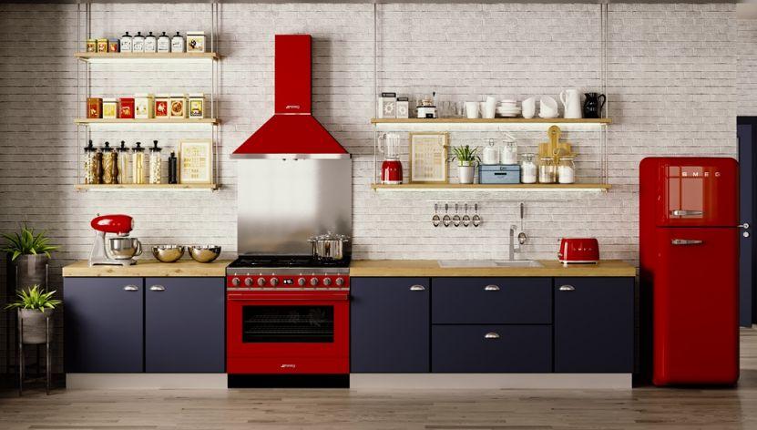 Kuchnia W Stylu Retro Jak Wybrać Idealną Płytę I Piekarnik