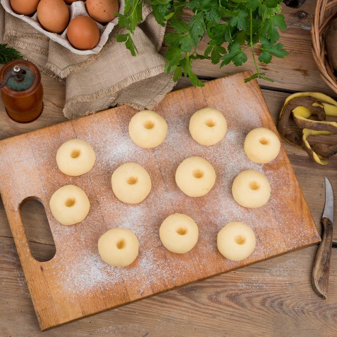 potrawy z gotowanych ziemniaków